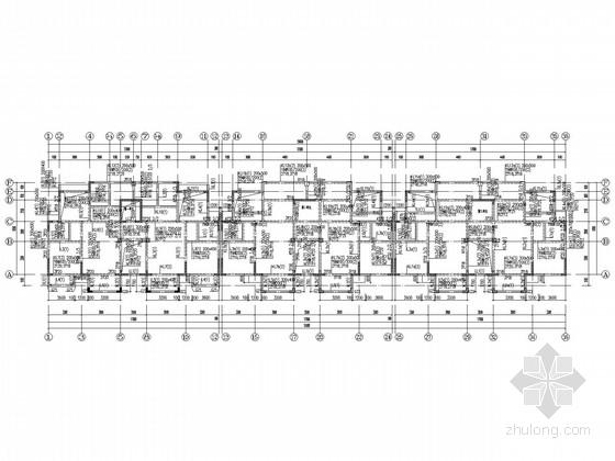 [海南]欧洲风情西班牙住宅结构施工图