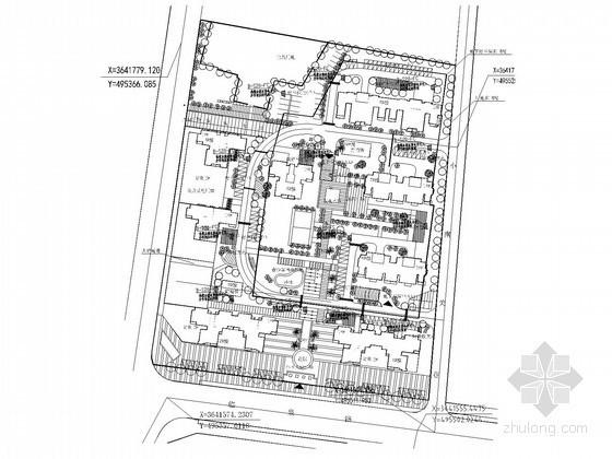 [安徽]小区智能化系统电气施工设计图纸