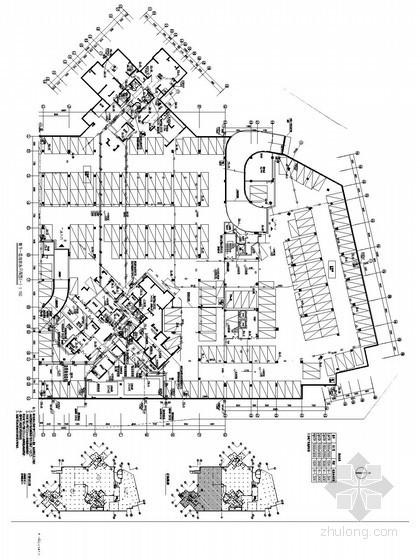 [福建]九万平米地块给排水消防施工图和变电所气体灭火设计