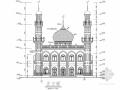 两层框架结构清真寺结构施工图(含建筑图)