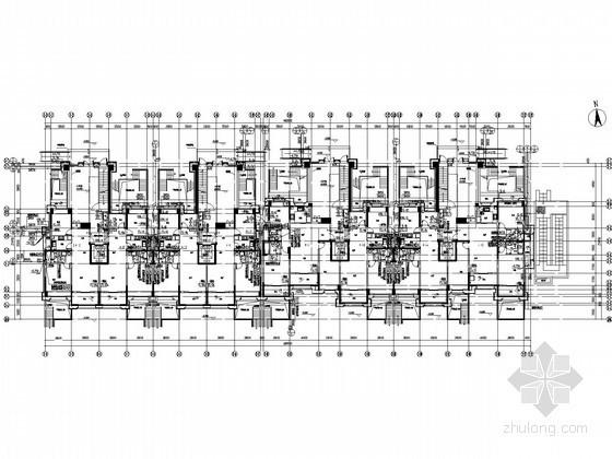 [江苏]24万平高层住宅及配套商业楼给排水全套图纸(太阳能热水 附游泳池)