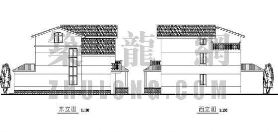 三层别墅设计方案-3