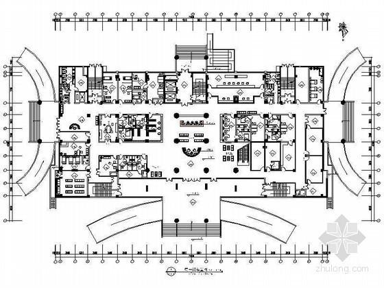 精品成套综合医院室内装修设计图