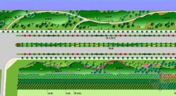 杭州开发区道路园林环境设计方案