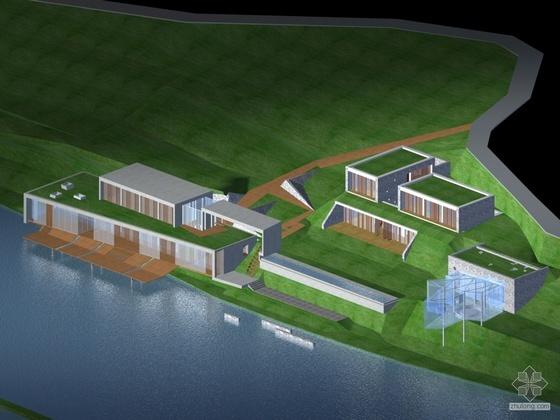 [丽江]某别墅建筑概念方案设计