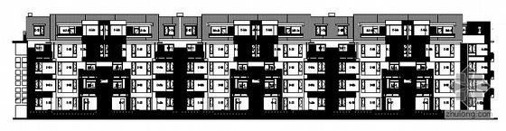 [南昌]某多层精装修住宅小区67#楼建筑施工图