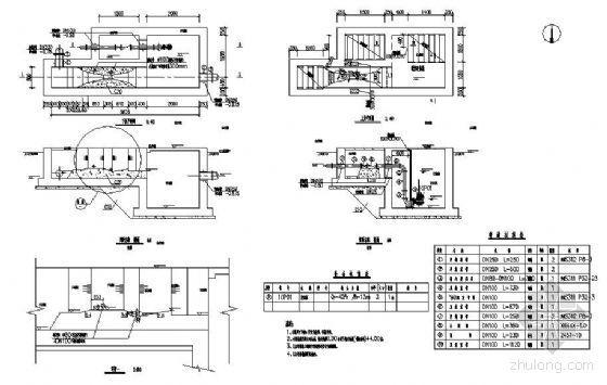巴氏计量槽施工图