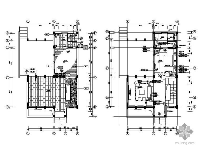 [海南]某两户型复式样板房装修图(含实景)