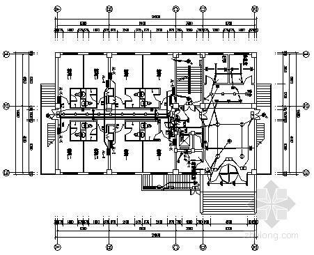 十层快捷酒店电气施工图纸