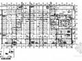 六层办公楼给排水平面图