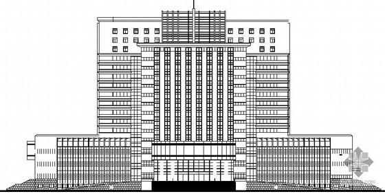 [许昌]某市中级法院审判庭综合楼建筑施工图