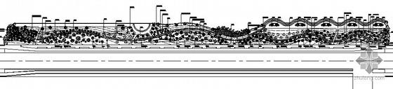 某小镇湖滨绿地园林景观工程施工图