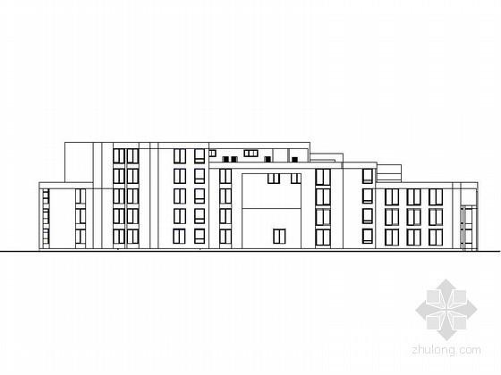 [课程设计]某四层建筑系馆建筑方案图(含效果图)