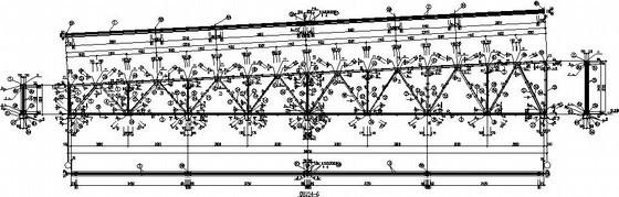 钢桁架屋架节点构造详图(设计院模板)