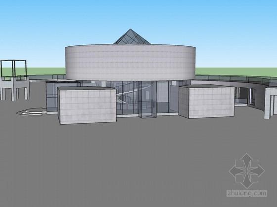 [丹下健三]作品SketchUp建筑模型