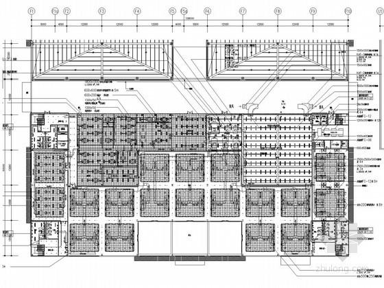 工业加工工厂空调通风系统设计施工图(含动力系统设计)