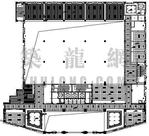 某地国税局办公大楼平面设计方案