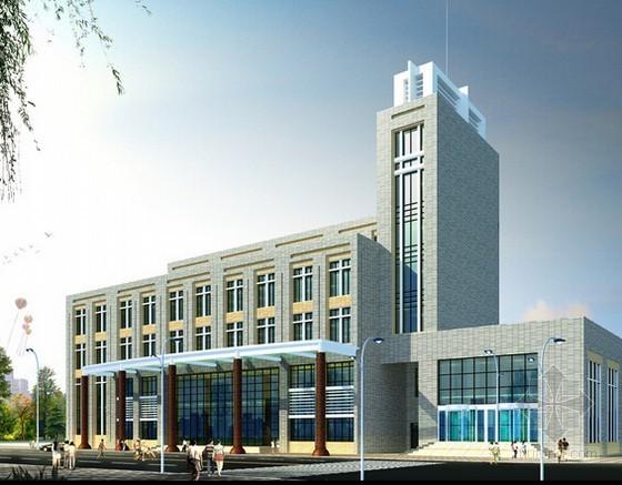 [毕业设计]甘肃某办公楼施工图预算(全套98页)