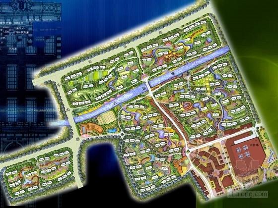 [上海]海湾小城住宅景观设计方案
