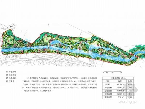 [杭州]河道景观规划整治工程设计方案