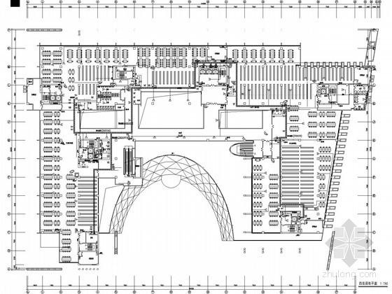 大学图书馆弱电系统施工图纸