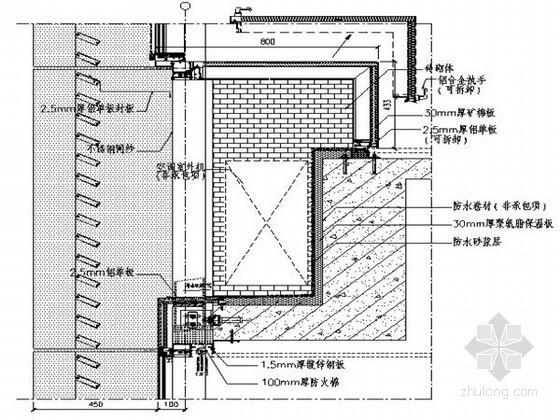 [浙江]高层商务办公楼幕墙工程施工方案(玻璃幕墙 瓷板幕墙)