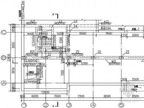 地铁标准车站深基坑围护与车站主体结构设计全套图纸