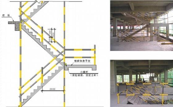 房建工程施工现场安全文明标准化实施手册(45页 附图较多)