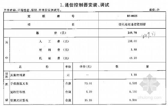 [最新]2015版广西安装工程消耗量定额519页(建筑智能化 通信设备 给排水 燃气)