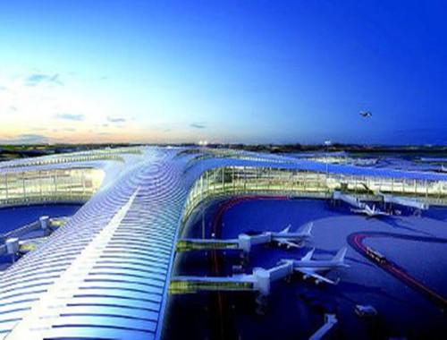 青島新機場建設兩項目招標,造價近10億元!