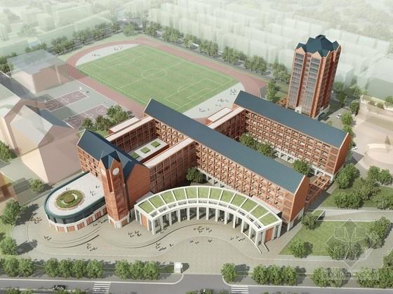[上海]36班红砖面墙校园规划设计方案文本