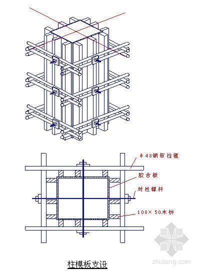 某钢厂高炉斜板沉淀间结构施工方案