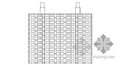 [毕业设计]某十一层二单元住宅楼建筑结构方案图