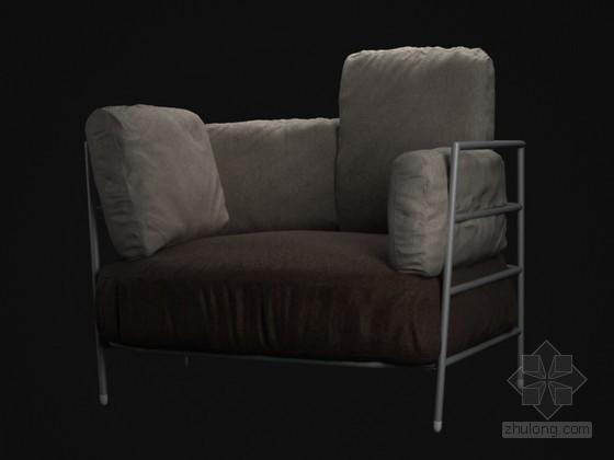 现代大沙发3D模型下载