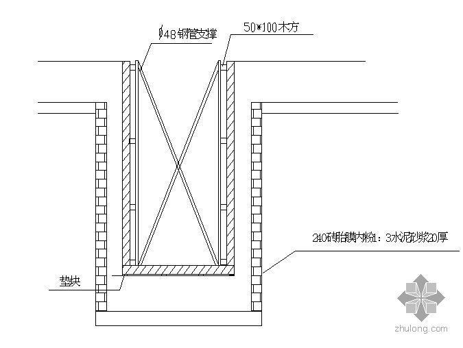 某框架结构展馆地下室施工方案(紫琅杯)