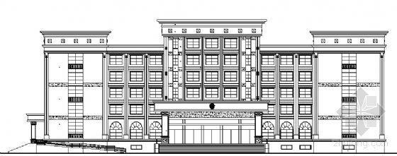 某六层欧式办公楼建筑方案图