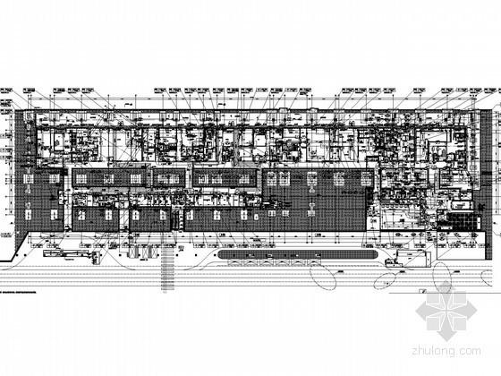 [上海]多层商业文化建筑空调通风及防排烟系统设计施工图(大院设计)