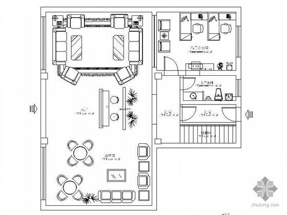 [浙江]某设计工作室装修图纸
