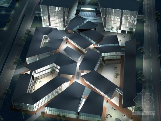 [上海]某住宅区规划及建筑单体设计投标方案文本