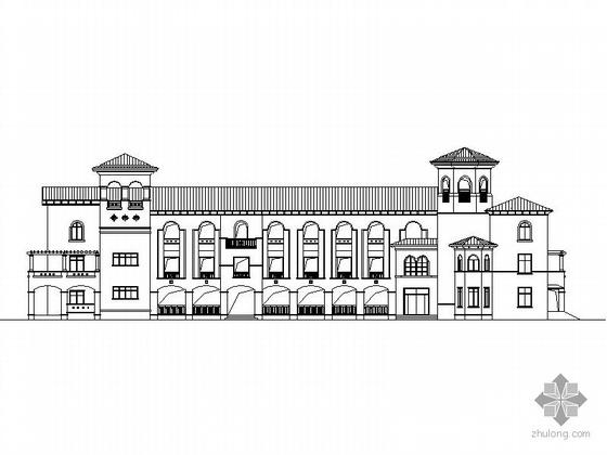[南京]威尼斯水城第六街区某9班幼儿园建筑施工图