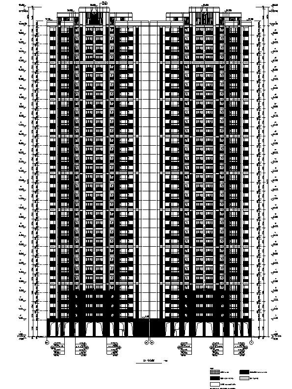 [四川]绿地29栋超高层住宅及地下室建筑施工图(正式全专业)_4