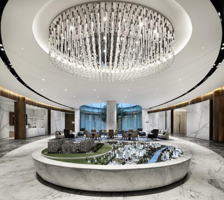 杭州透着人文意蕴景瑞天赋会所室内实景图 (2)