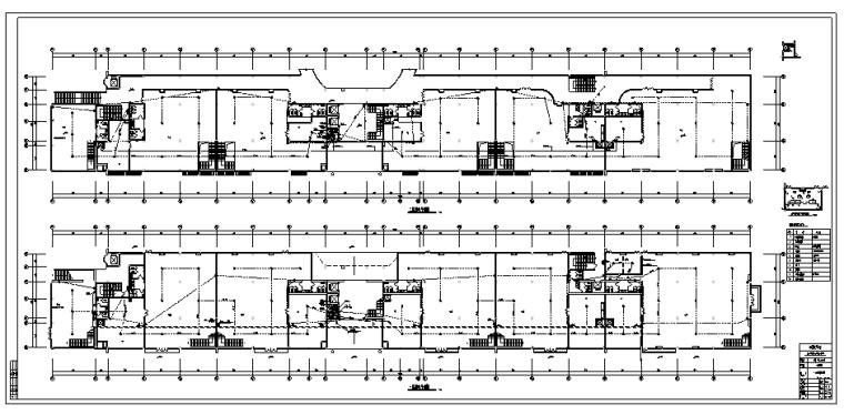 [成都]五幢多层商住楼强弱电设计图纸_4