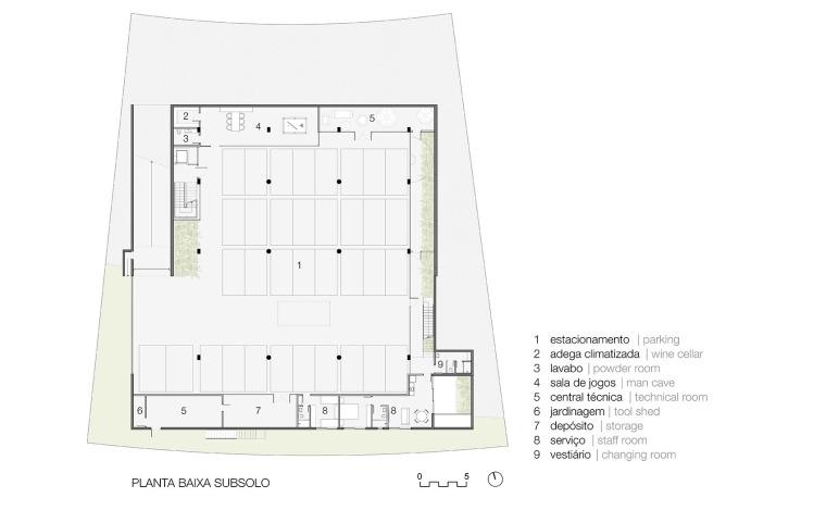 结构与空间融合的JardimdoSol住宅-40