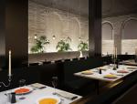 西式餐厅3D模型下载