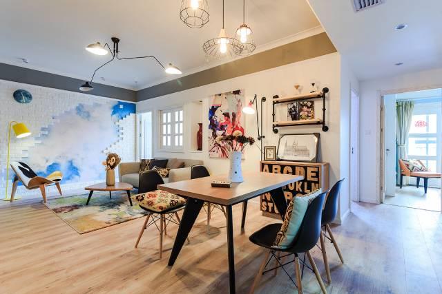 选择开放式厨房,空间大出许多!