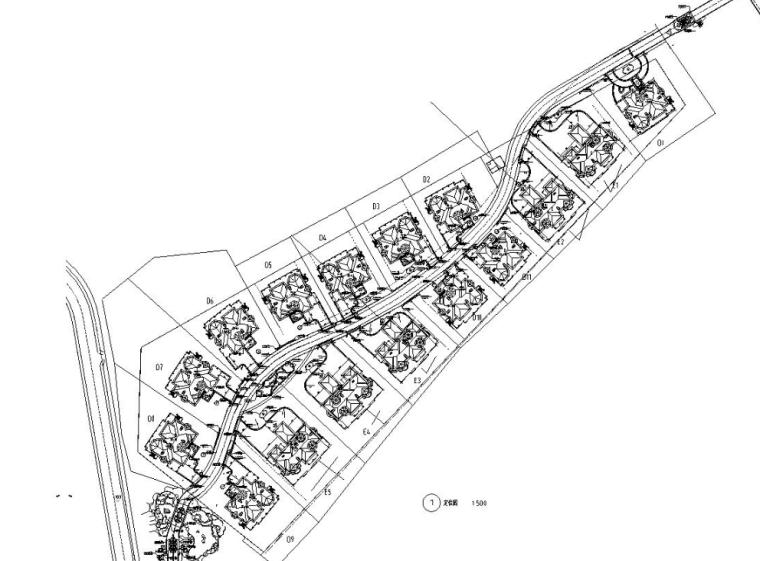 [广东]观澜湖高尔夫球会景观设计V5区全套施工图设计
