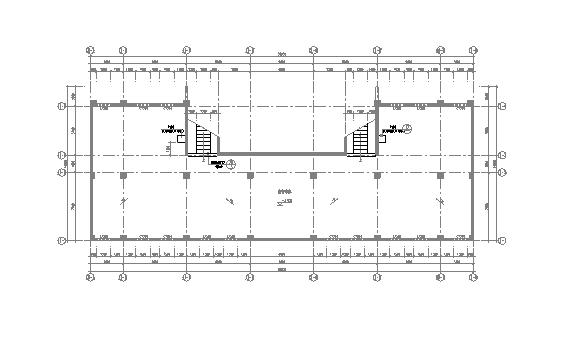 IFLA学生竞赛图纸资料下载-多层学生宿舍楼建筑技术平面图图纸