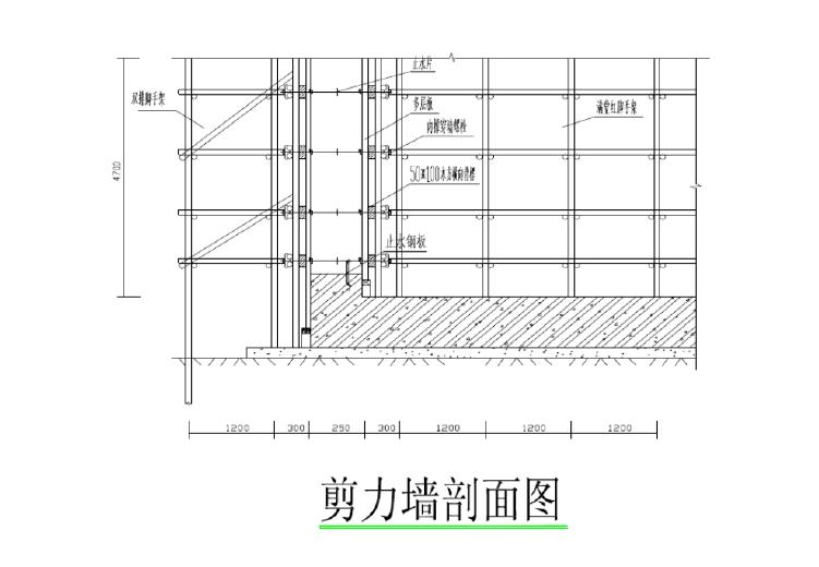 符夹线淮北站房及站场改造工程消防水池及泵房施工方案