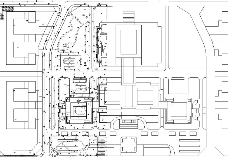 安徽大型酒店消防报建修改图纸(电、水暖)